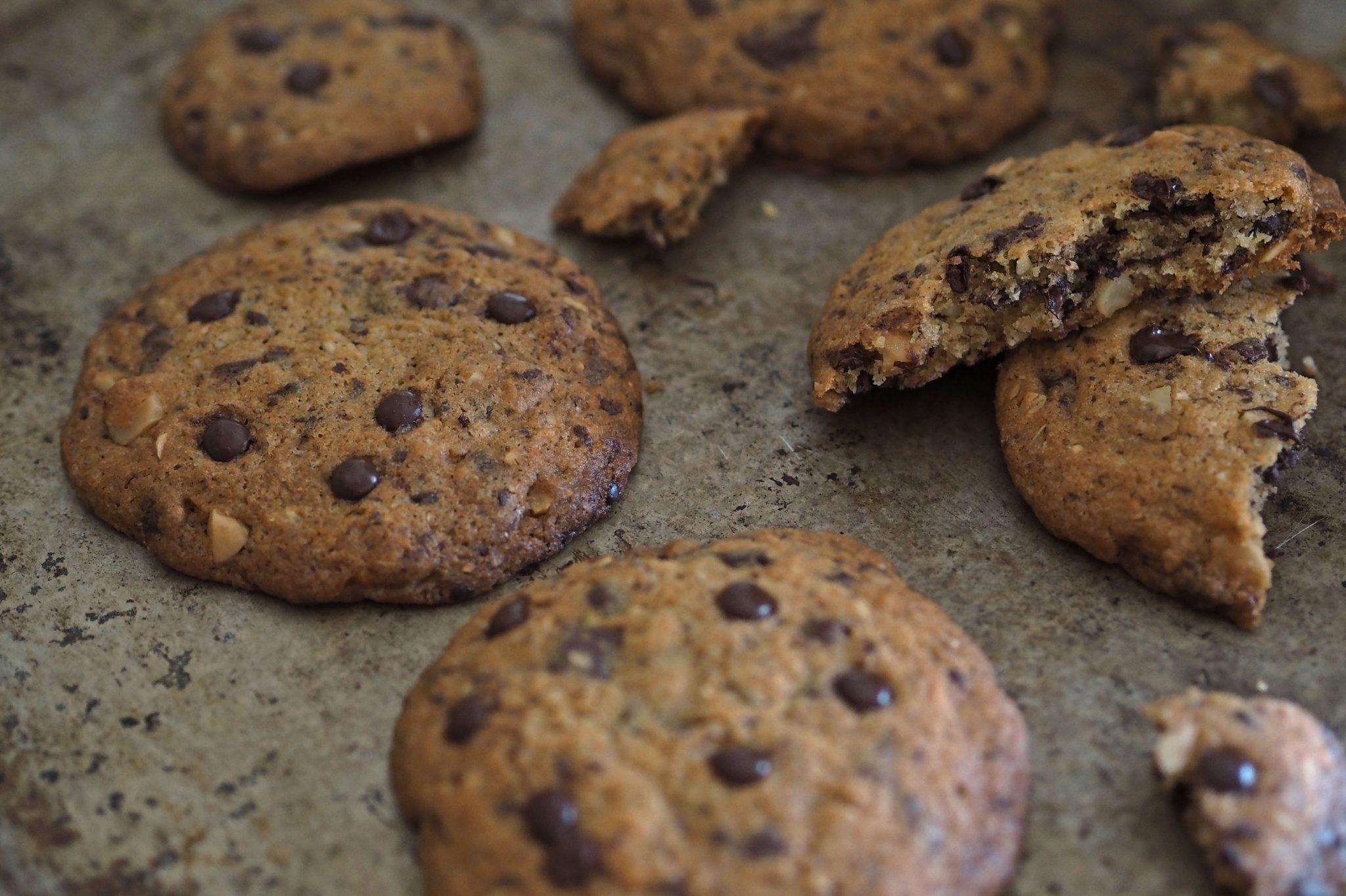 Schokotropfen Kekse
