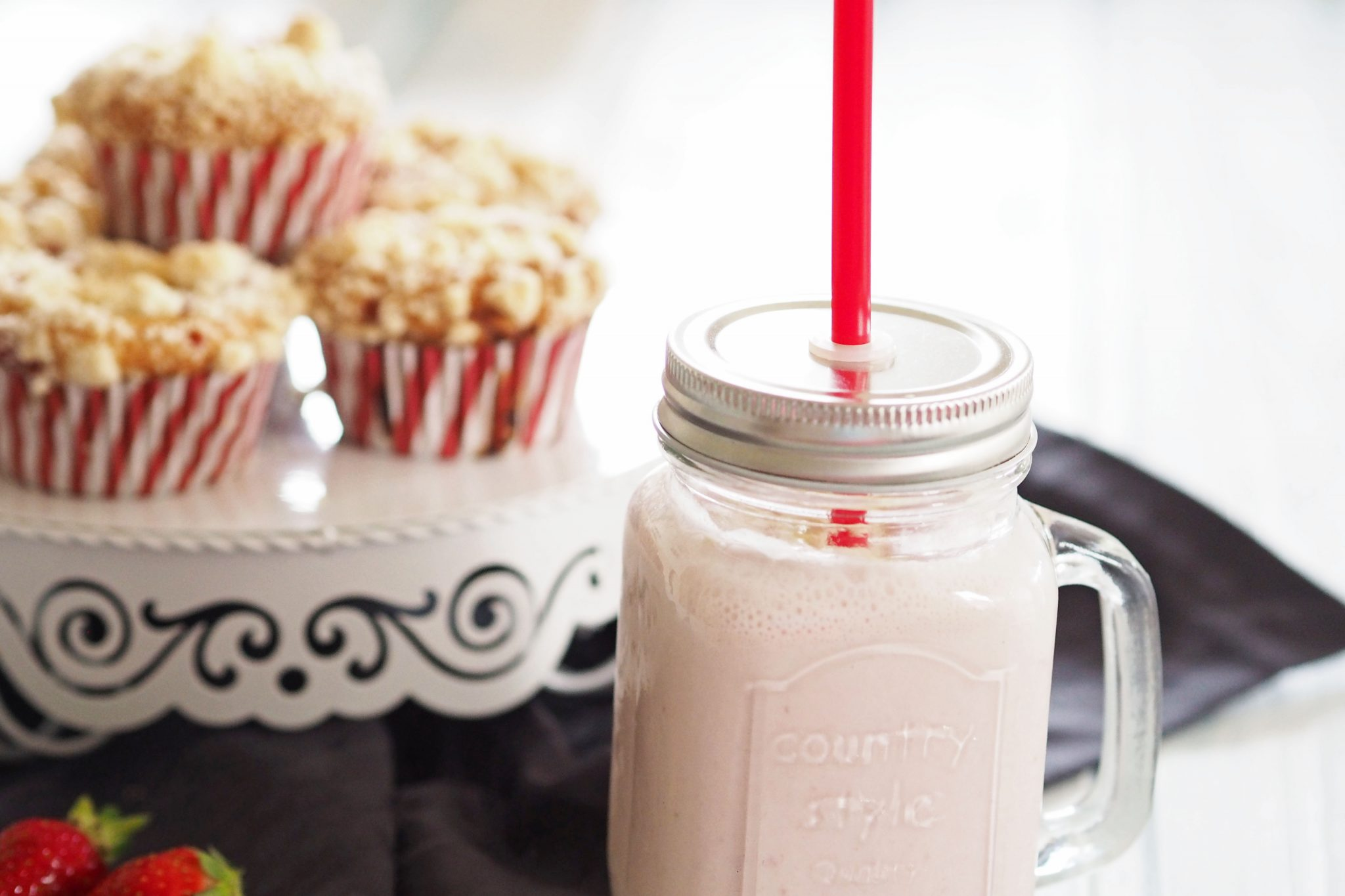 Strawberry Cheesecake Milchshake