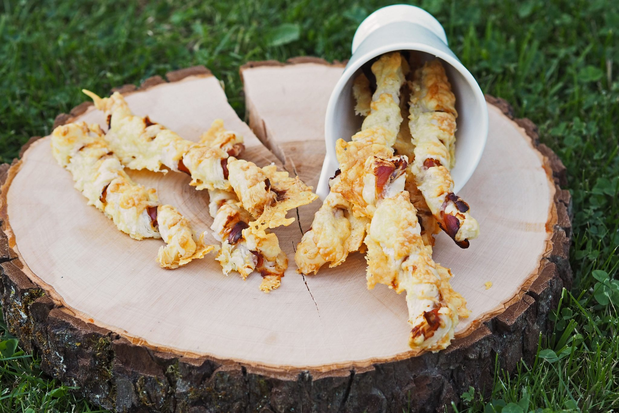 Snack Fingerfood Käse Blätterteig