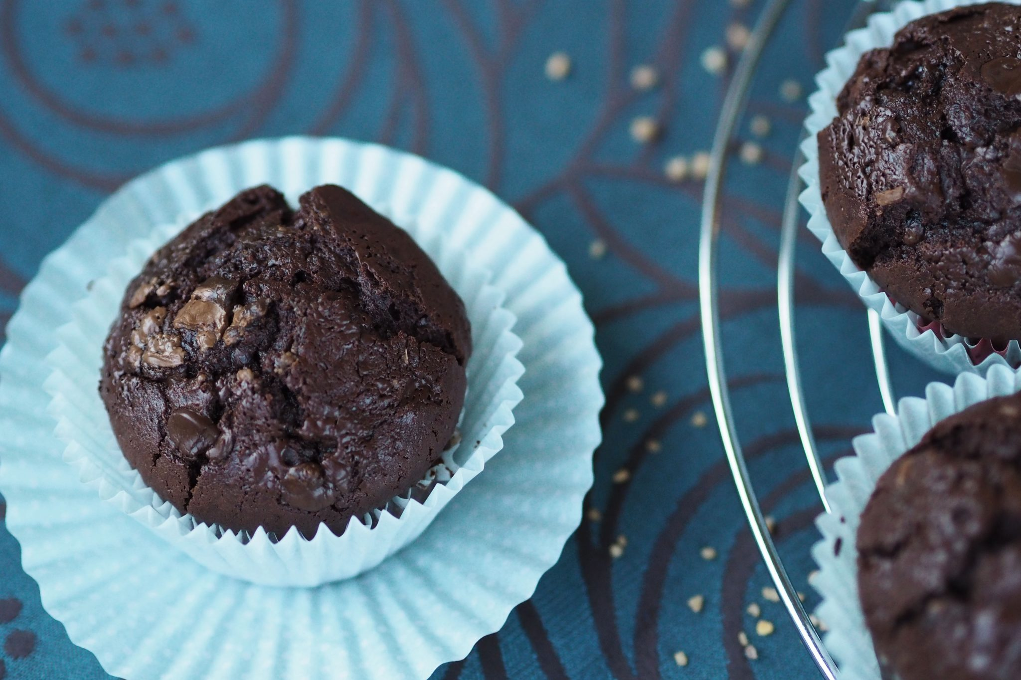 Schokoladen Kaffee Muffins