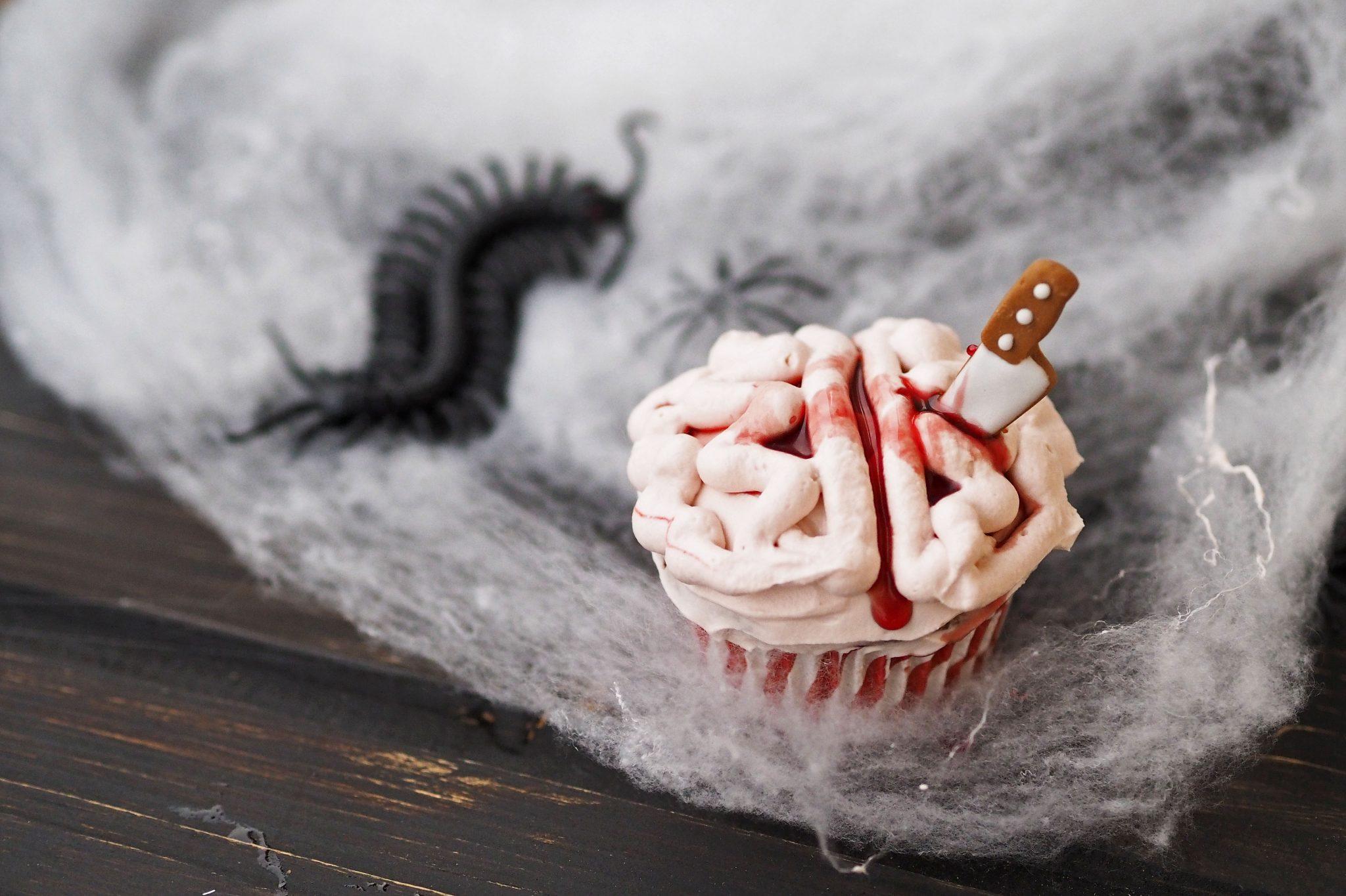 Gehirncupcakes Halloween Cupcakes
