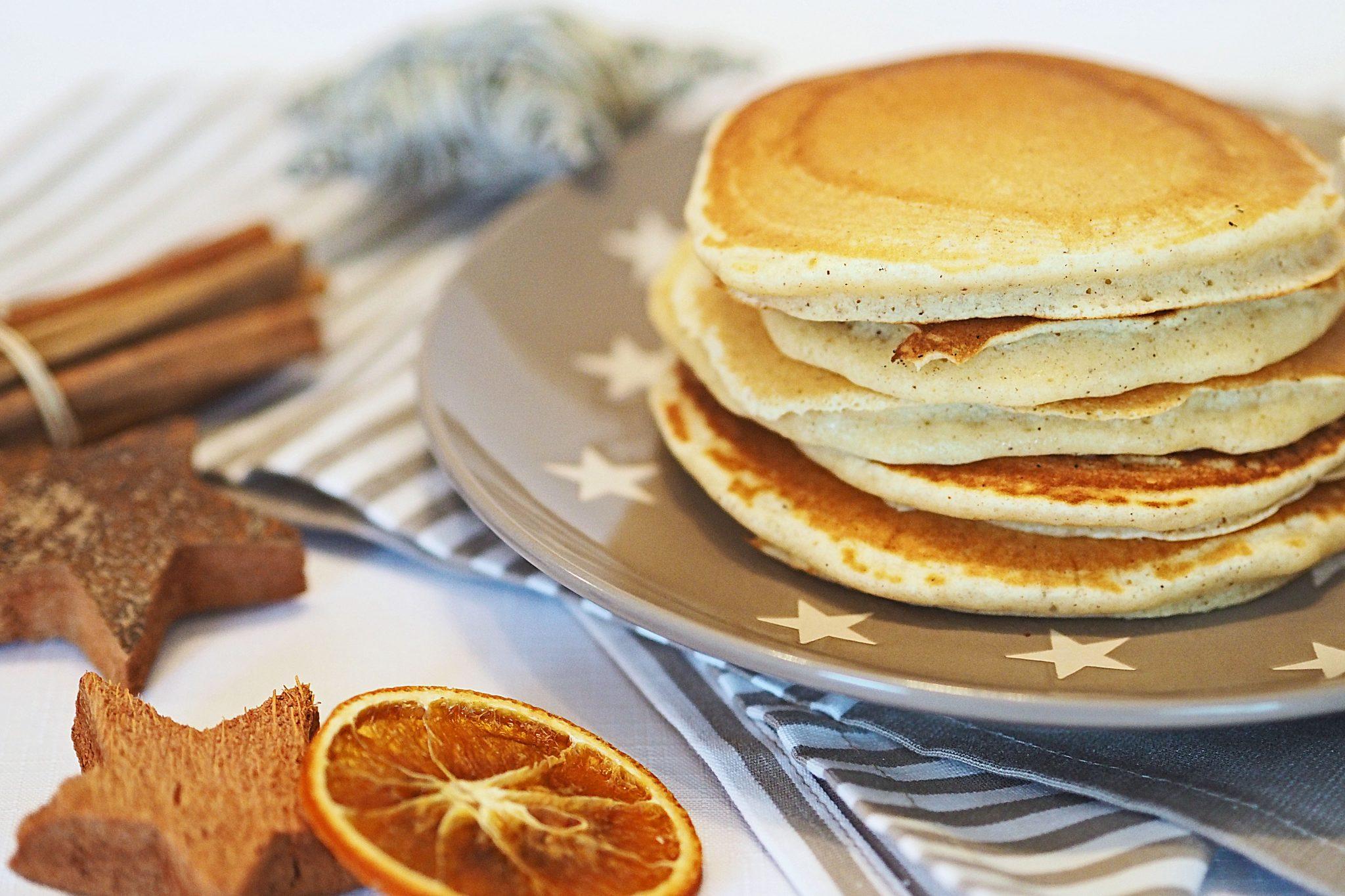 Pancakes mit Schokosauce