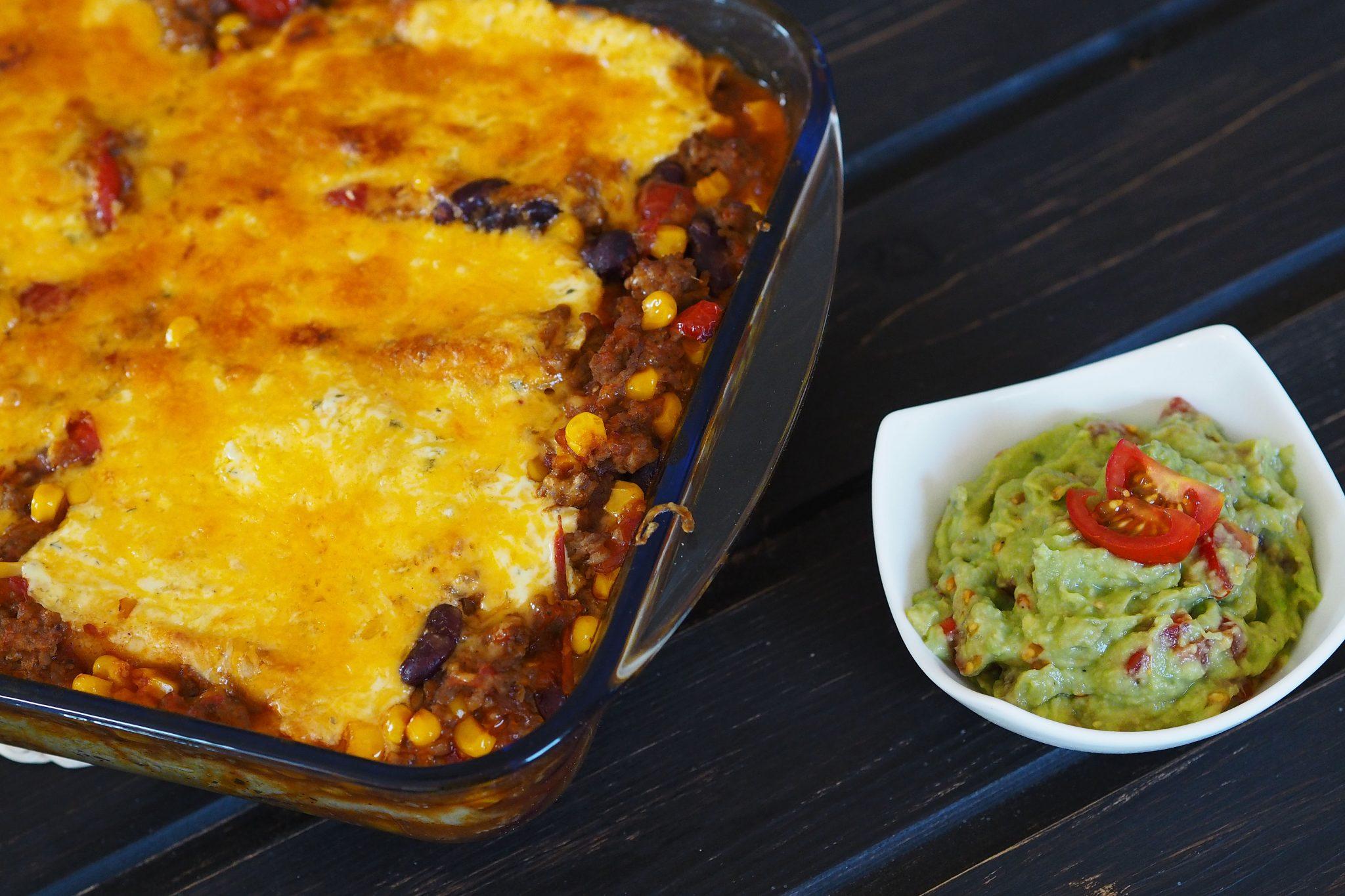 Enchiladas Guacamole