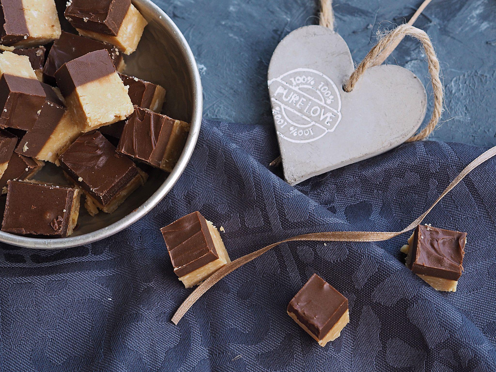 Peanutbutter Chocolate Fudge