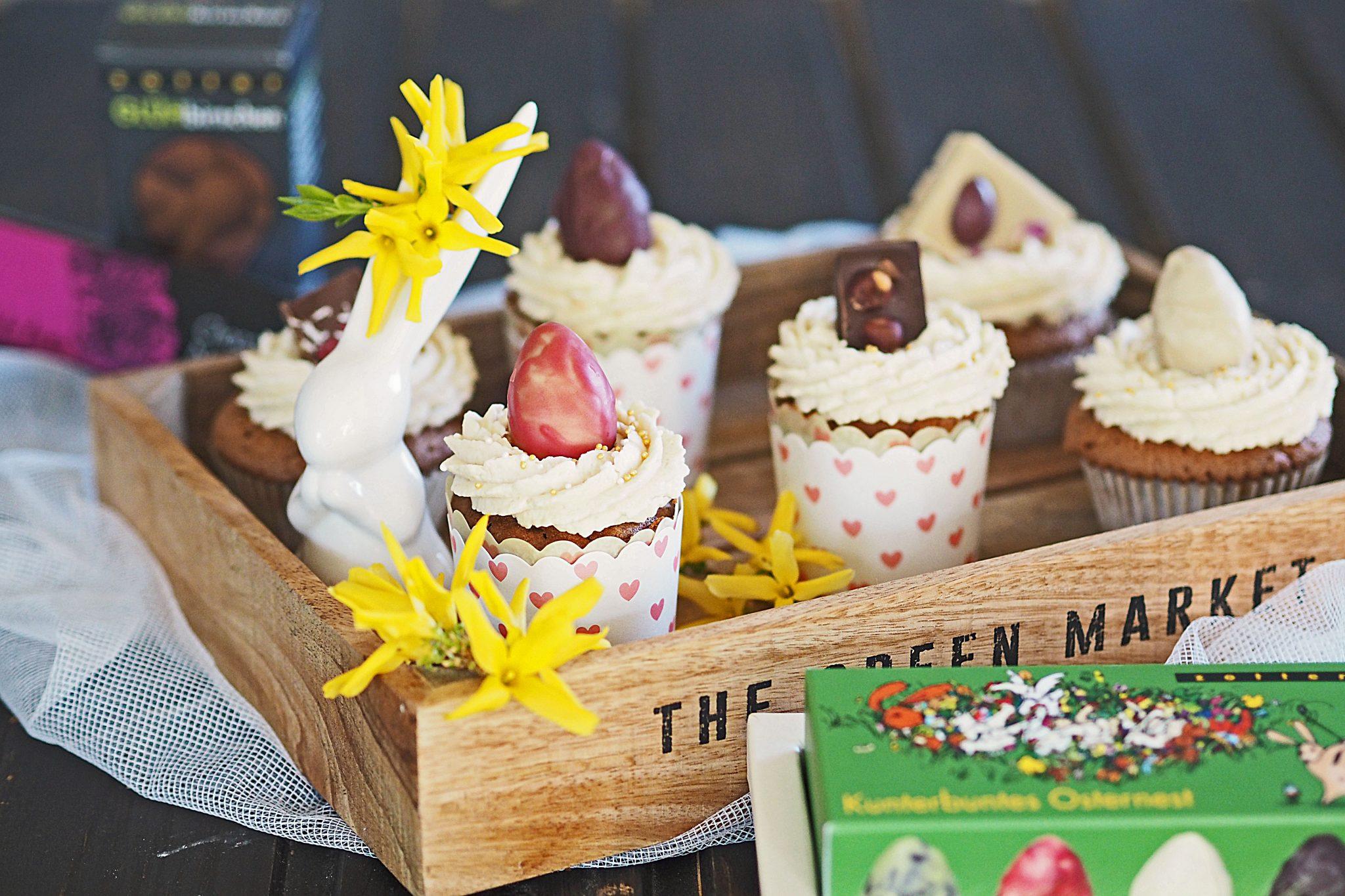 Kokosnougat Cupcakes