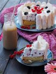 Biskuit-Torte a la Eton Mess