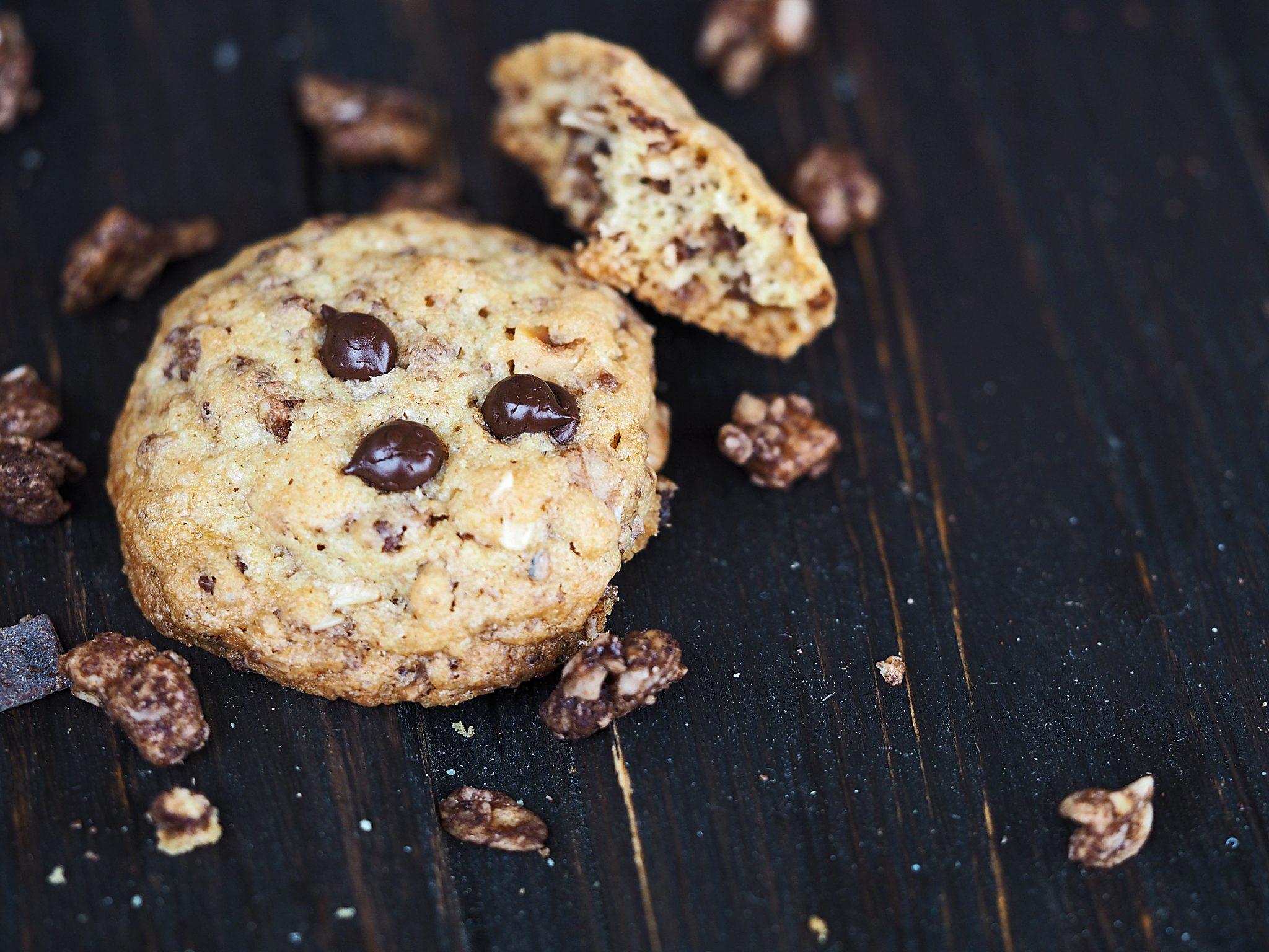 Knuspermüsli-Cookies