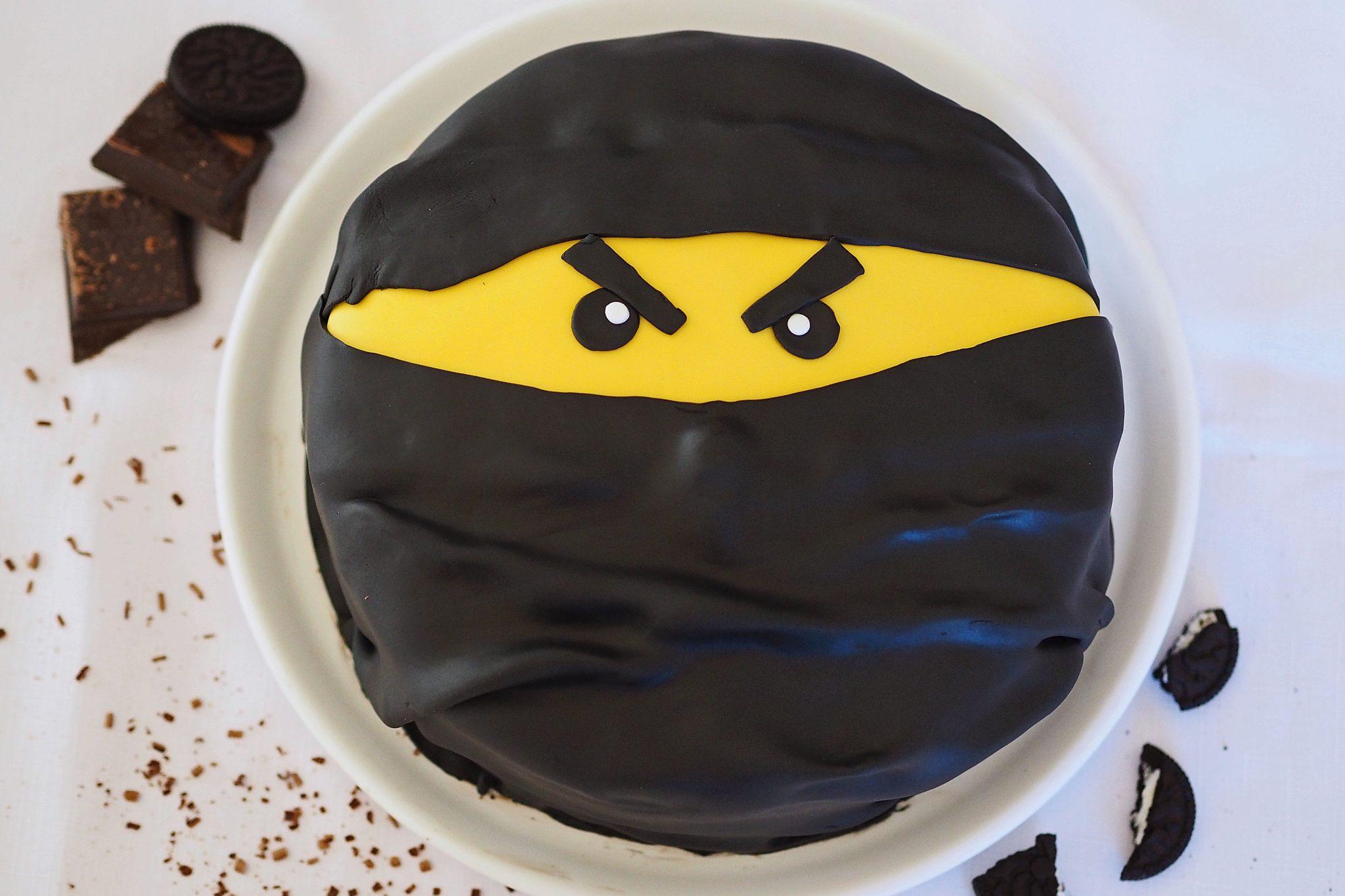 Schoko Oreo Torte Mit Fondant Ninja Torte What Bakes Me Smile