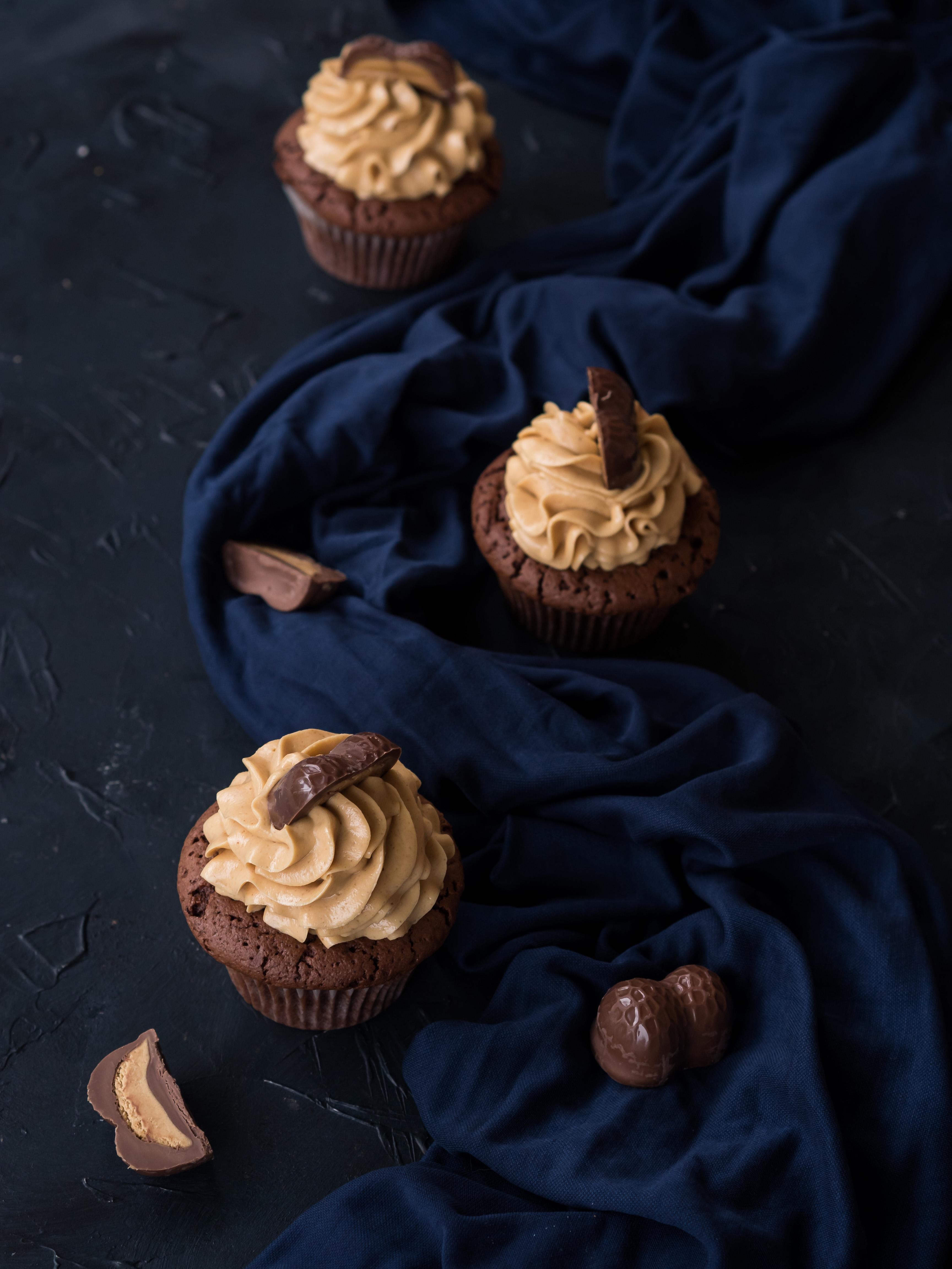 Peanutbutter Chocolate Cupcakes