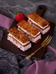 Blätterteig-Cremeschnitten mit Erdbeeren