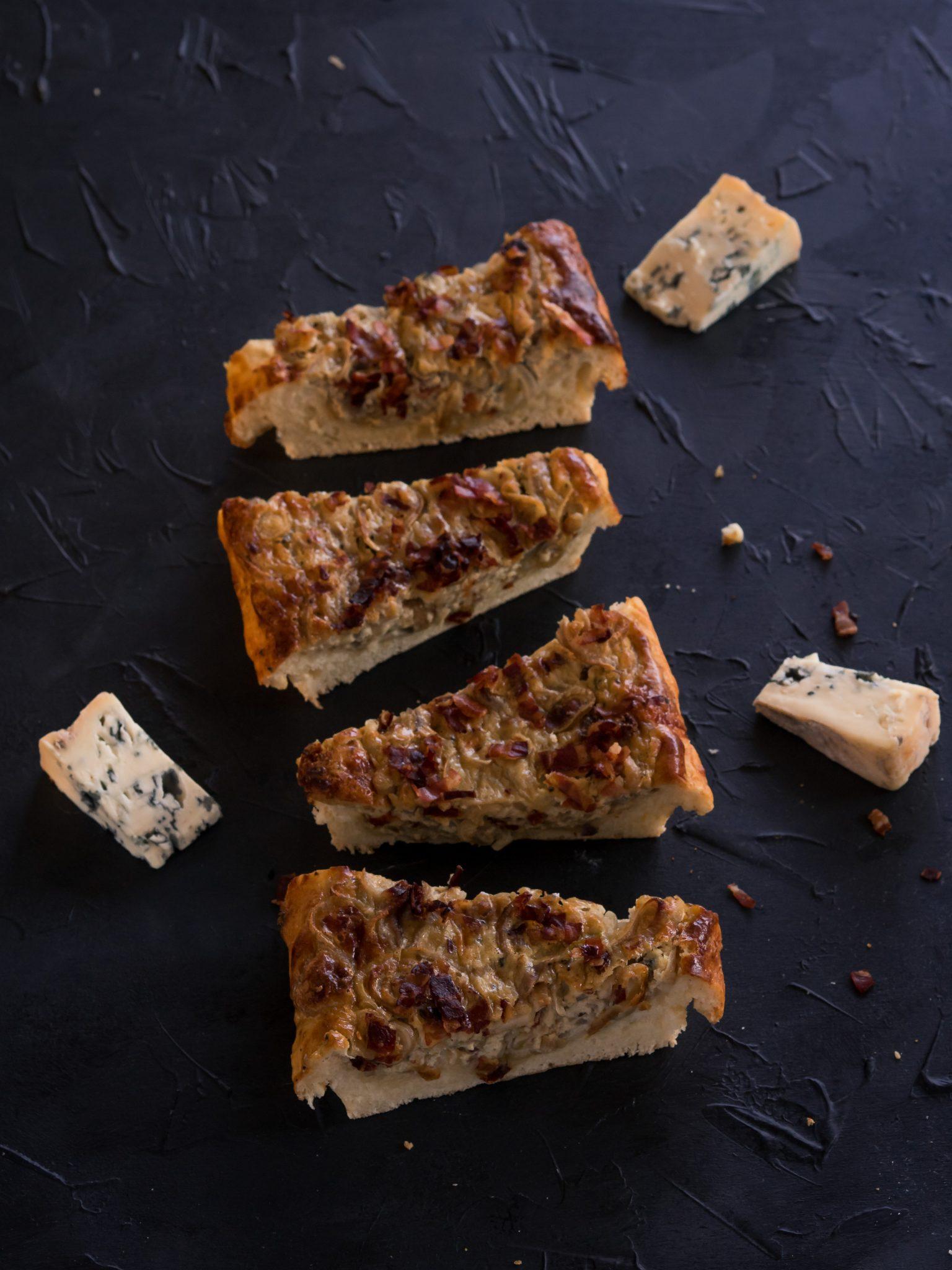 Käse-Zwiebelkuchen