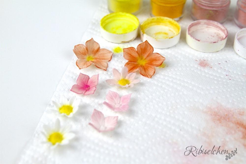 Zuckerblüten Anleitung