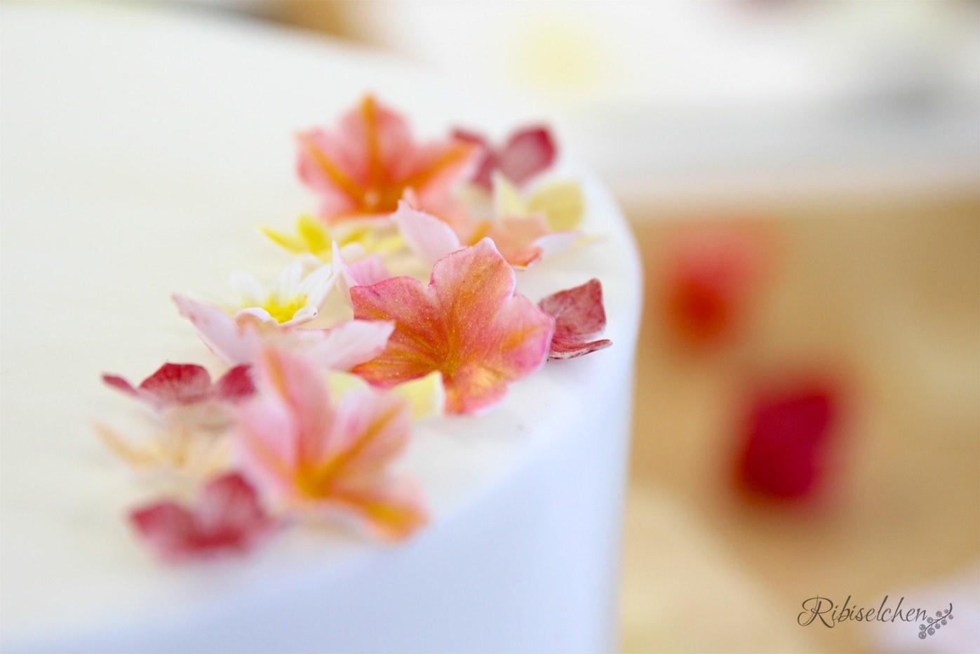 Einfache Zuckerblumen Anleitung